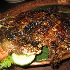 ikan bakar, ikan goreng, ikan bbq