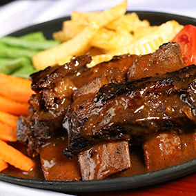 Rib Steak, Steak Babi, Iga Sapi, Iga Babi, Steak Iga